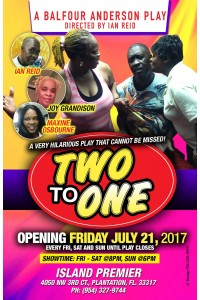 Tickets: TWO TO ONE (Live Play)