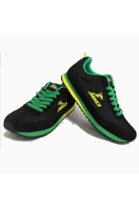 Reggae Roots Wear Sneakers (Black)